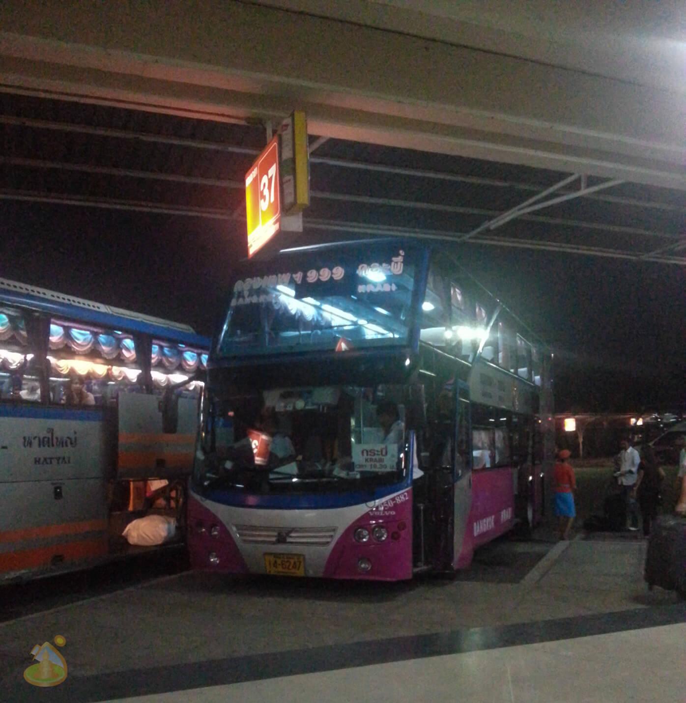 VIP Bus в Тайланде
