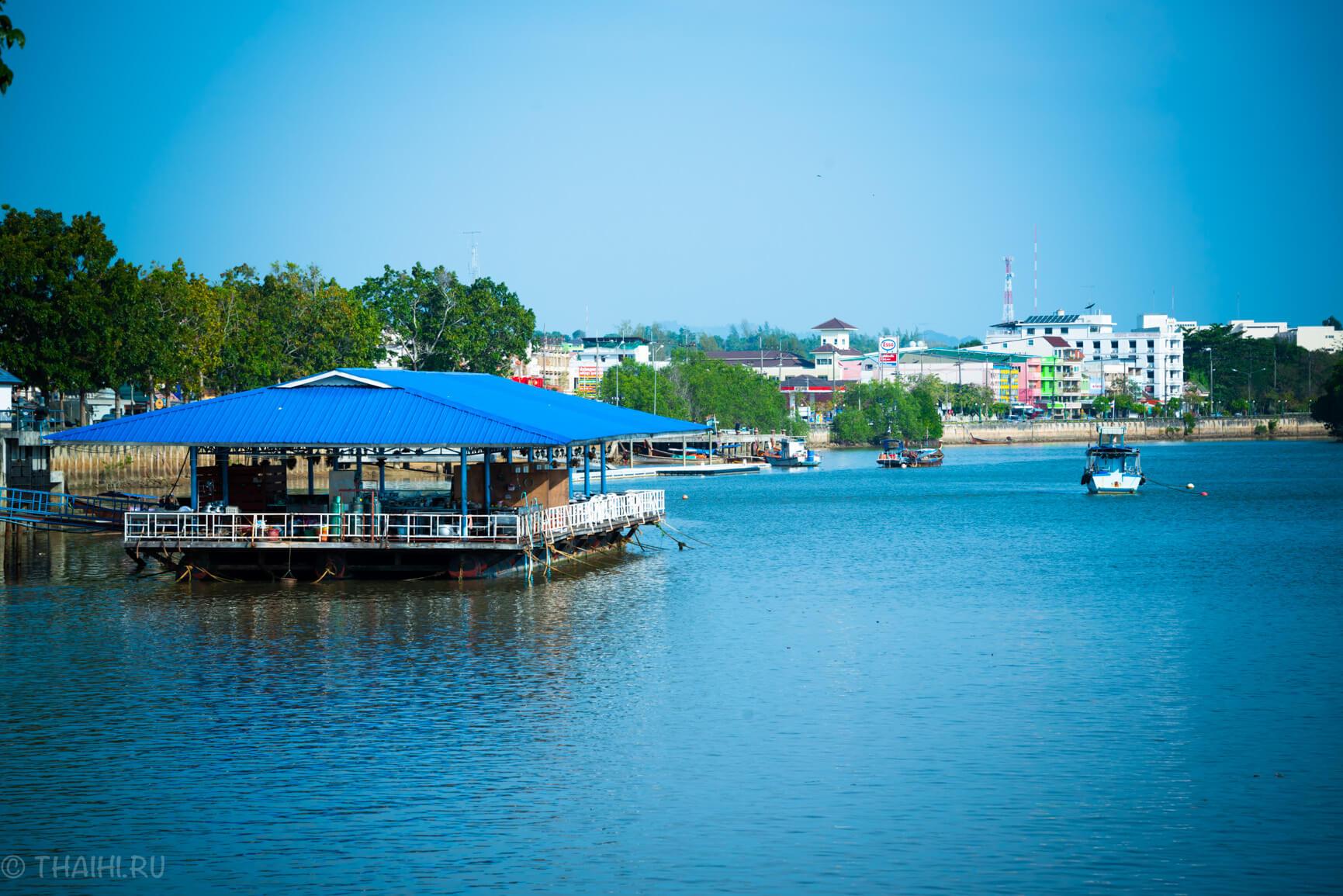 Плавающий ресторанчик в Краби