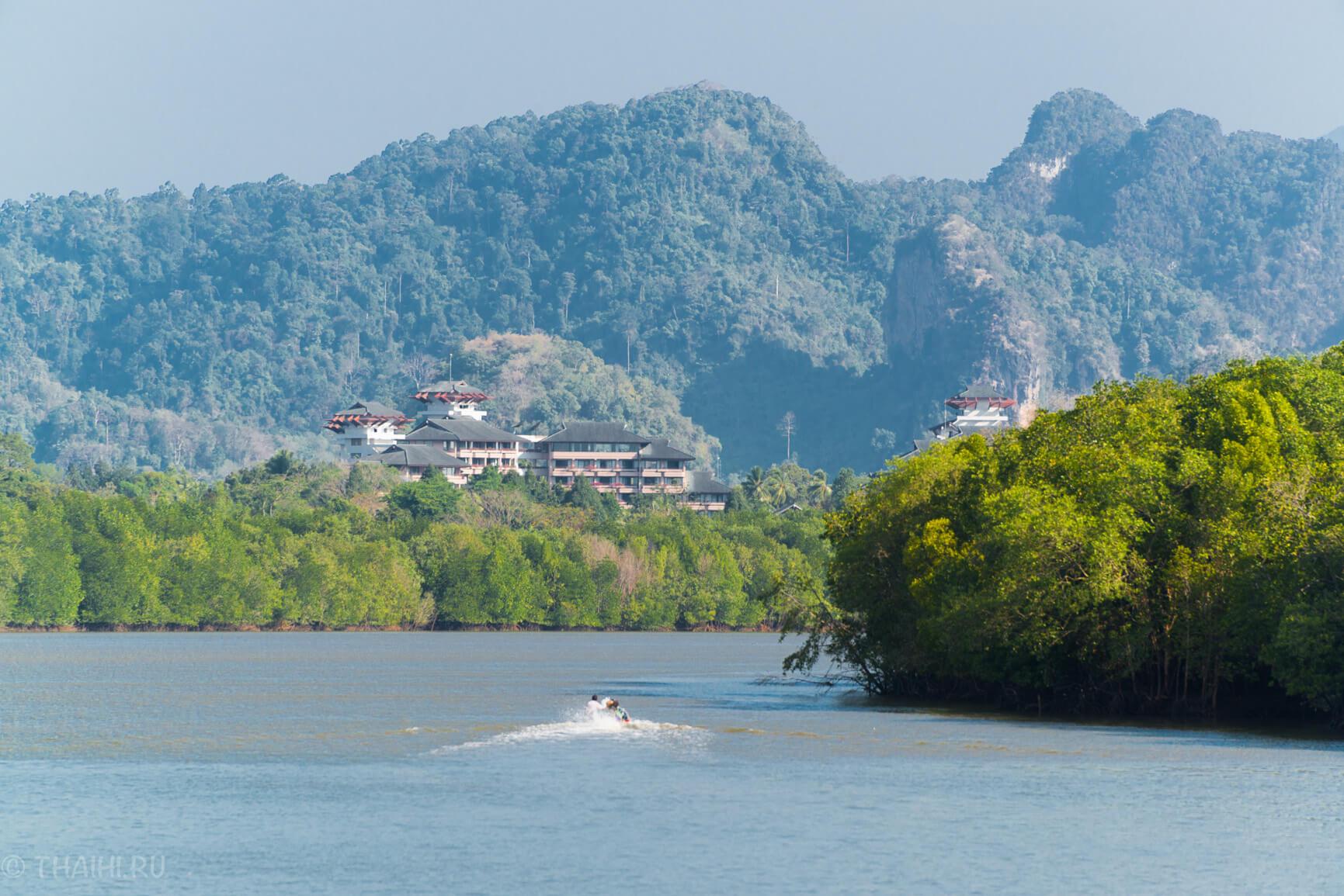 Залив в Krabi Town