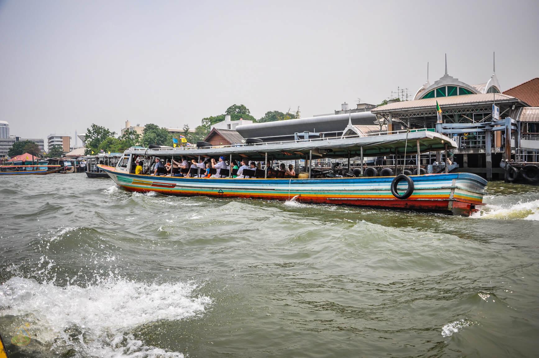 Прогулка на лодке по Чао Прайя