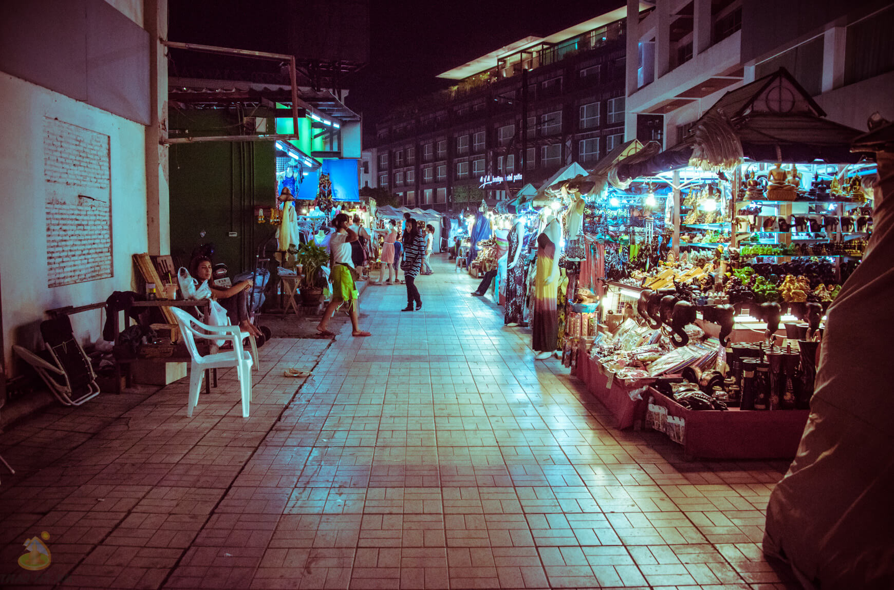 Рынок сувениров в Паттайе