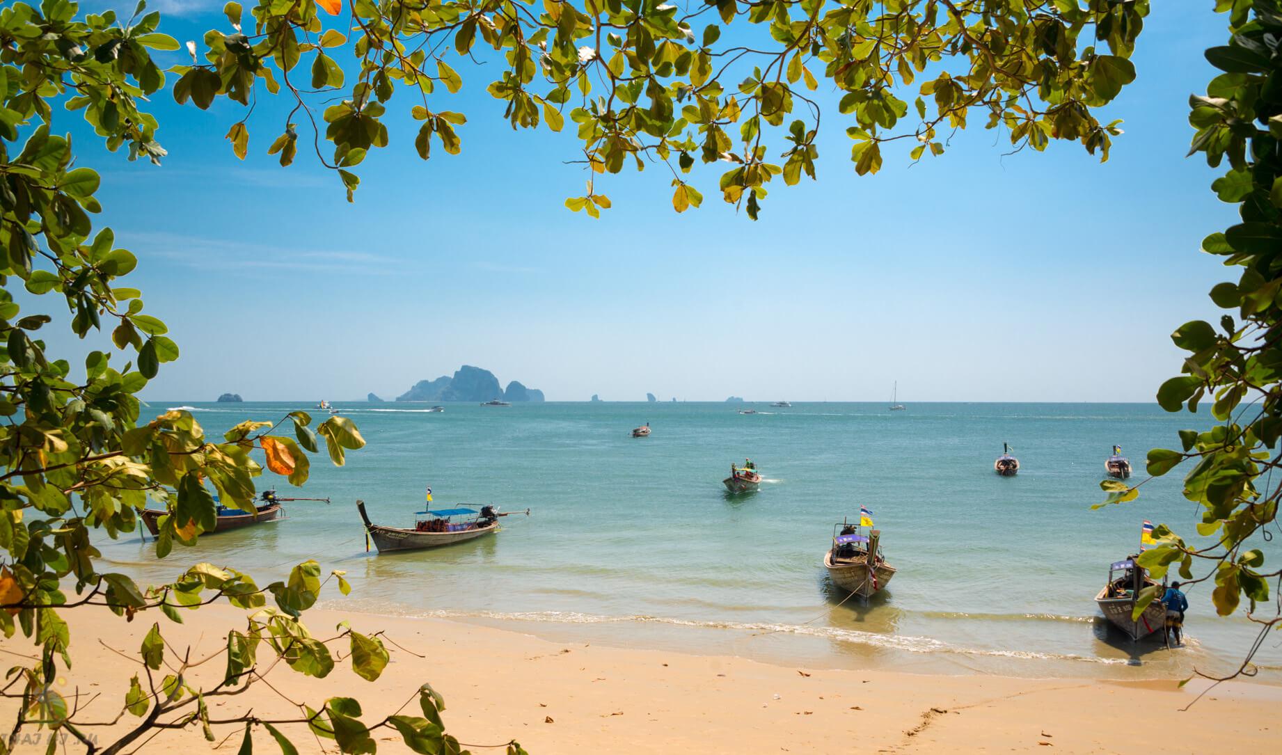 Пляж на Ао Нанг