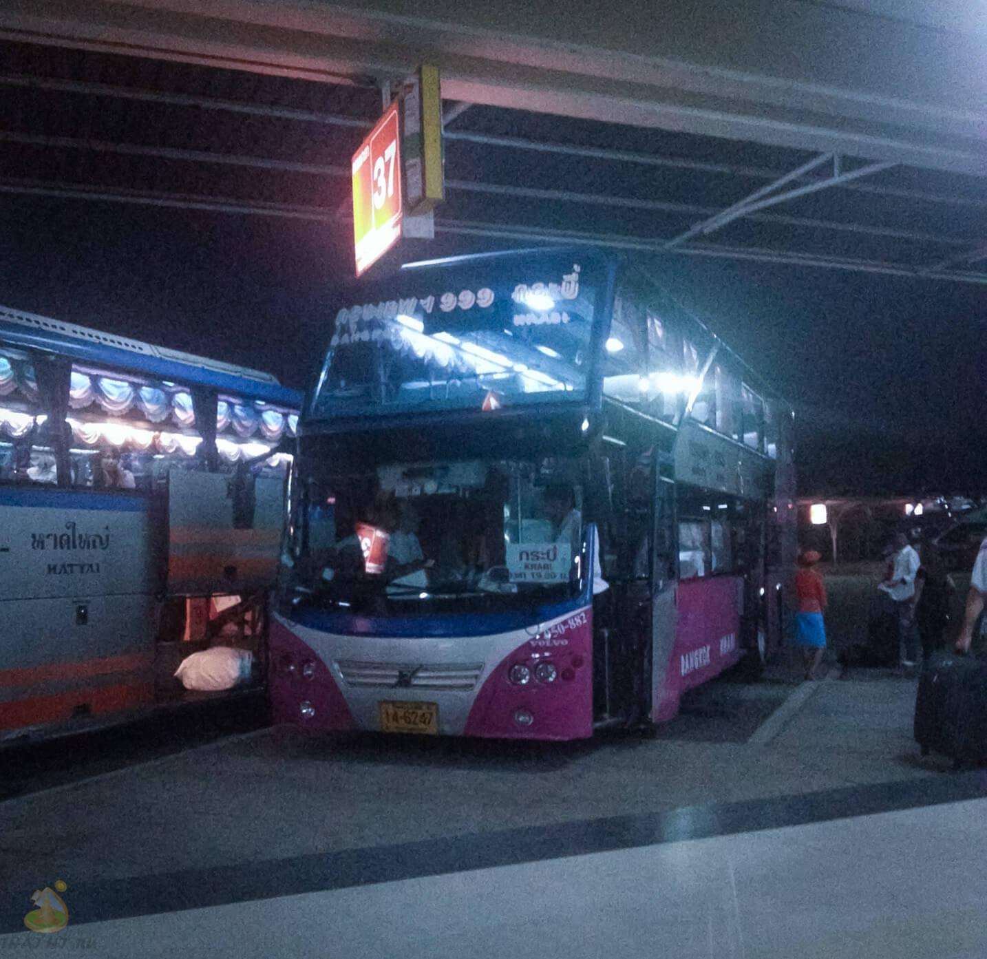 VIP автобус в Бангкоке