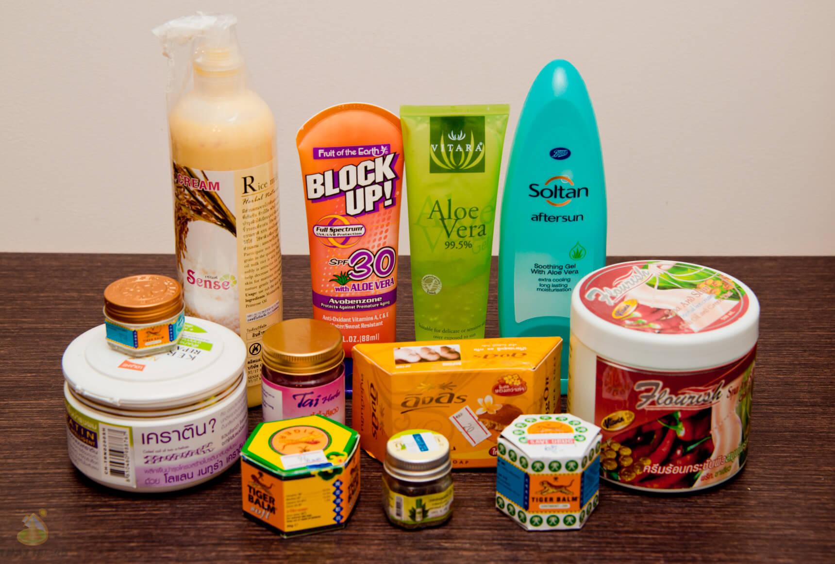 Что купить из косметики в бангкоке