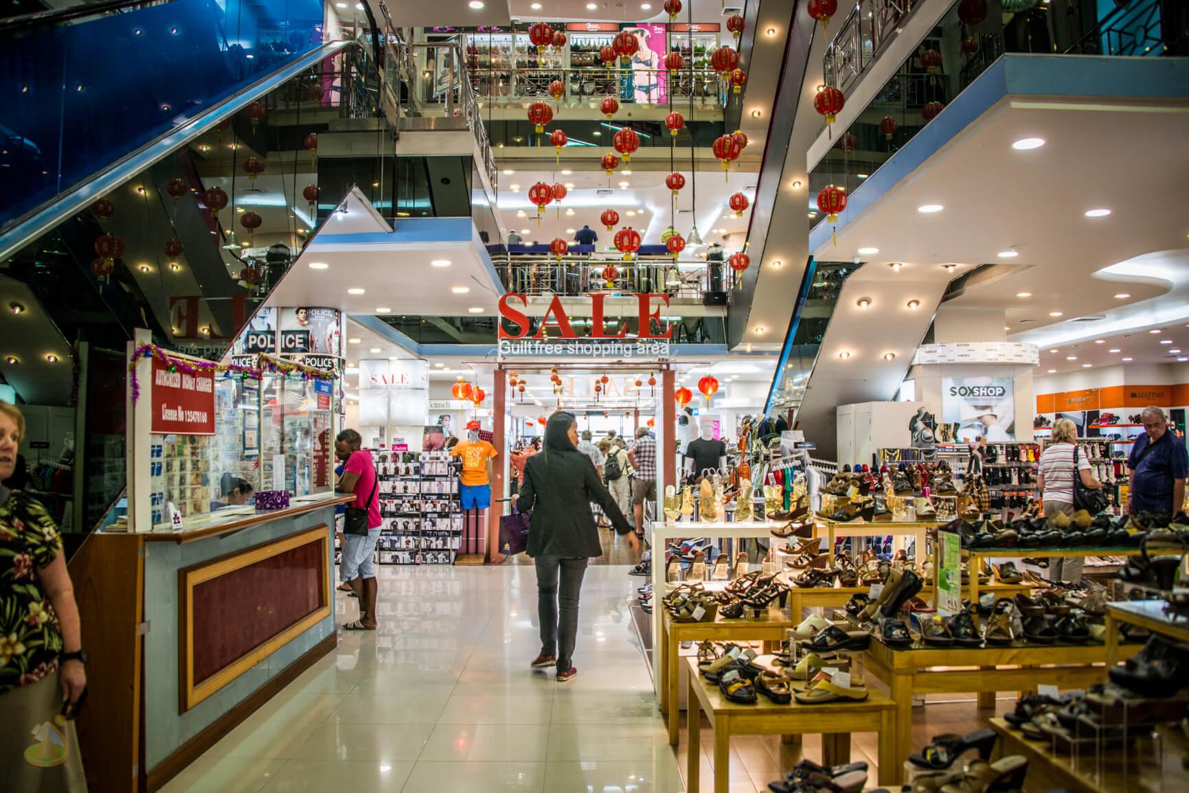 Покупка одежды в Паттайе