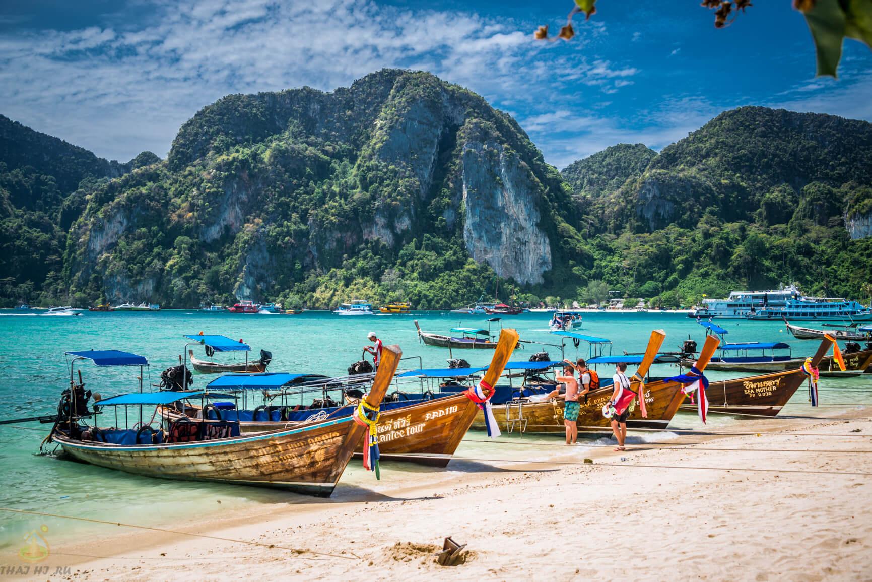 Фото на берегу острова Пхи Пхи