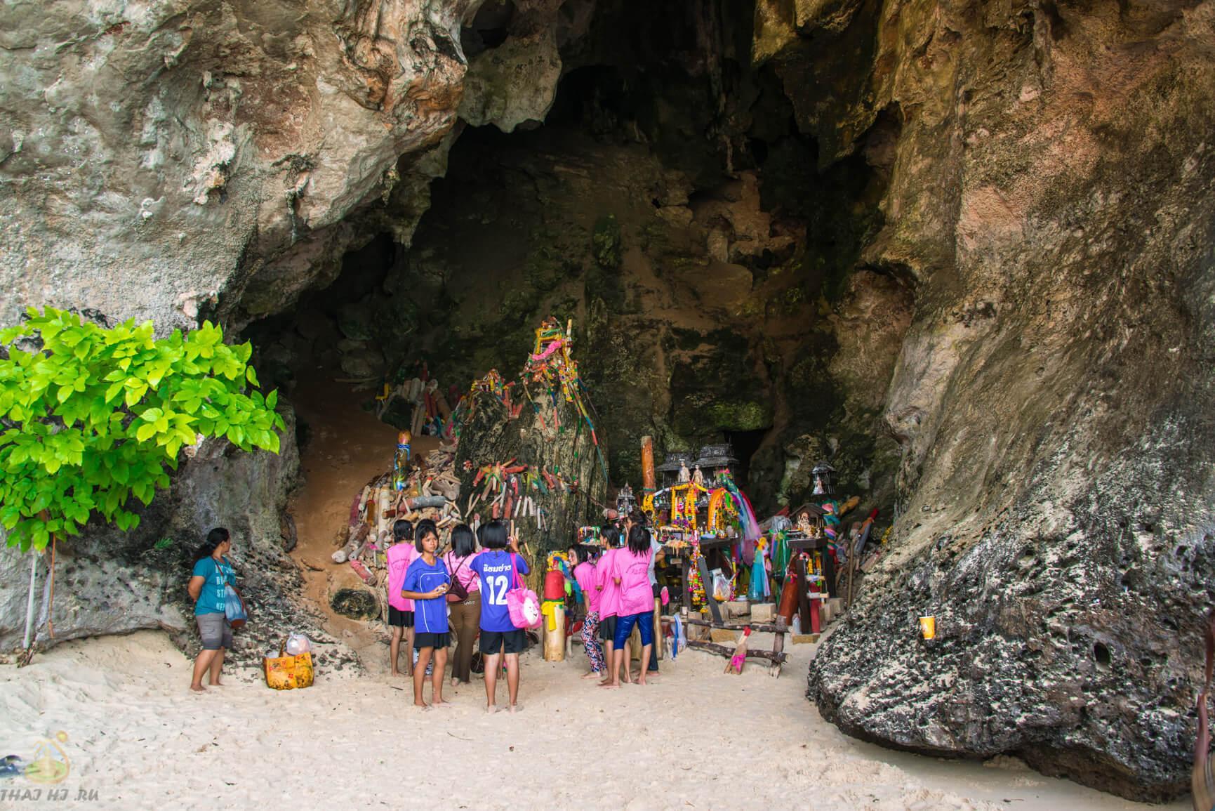 Фото пещеры на Пляж Phra Nang Cave Beach