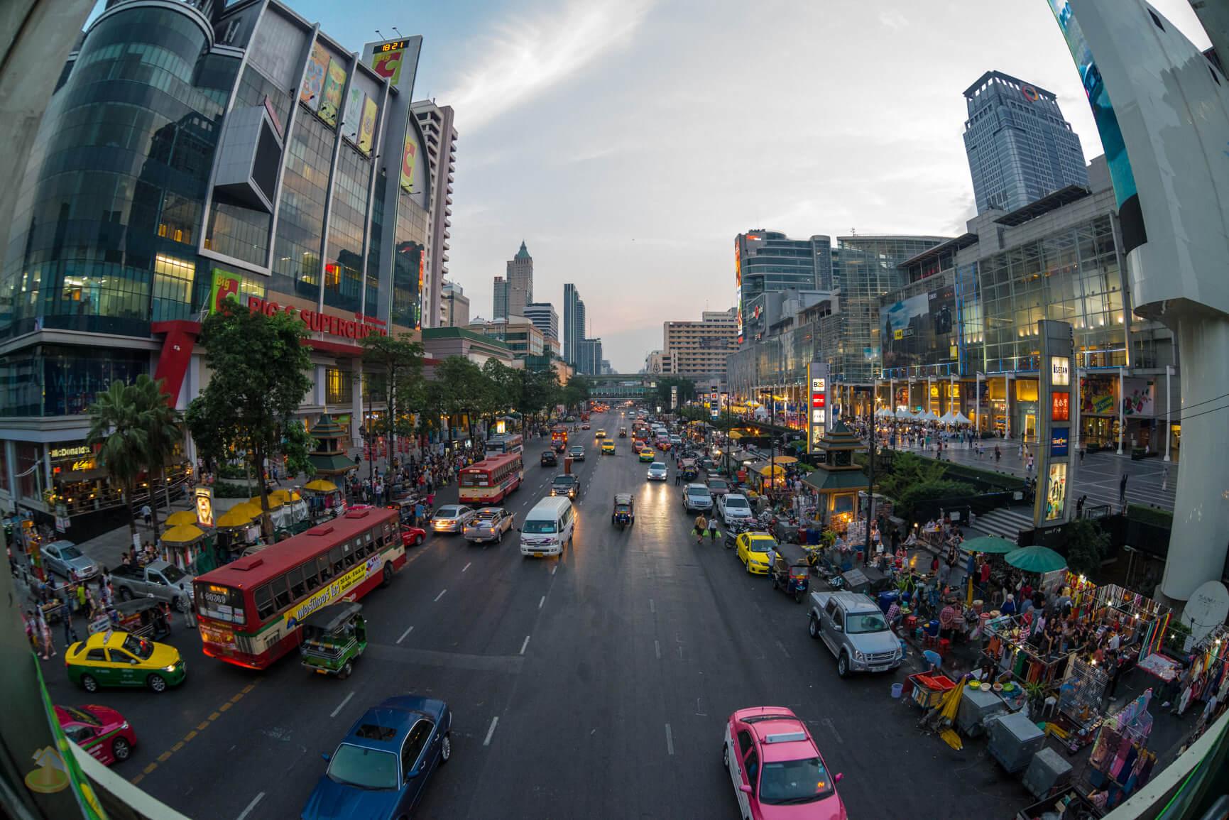 Центр Бангкока - рай для шопоголика