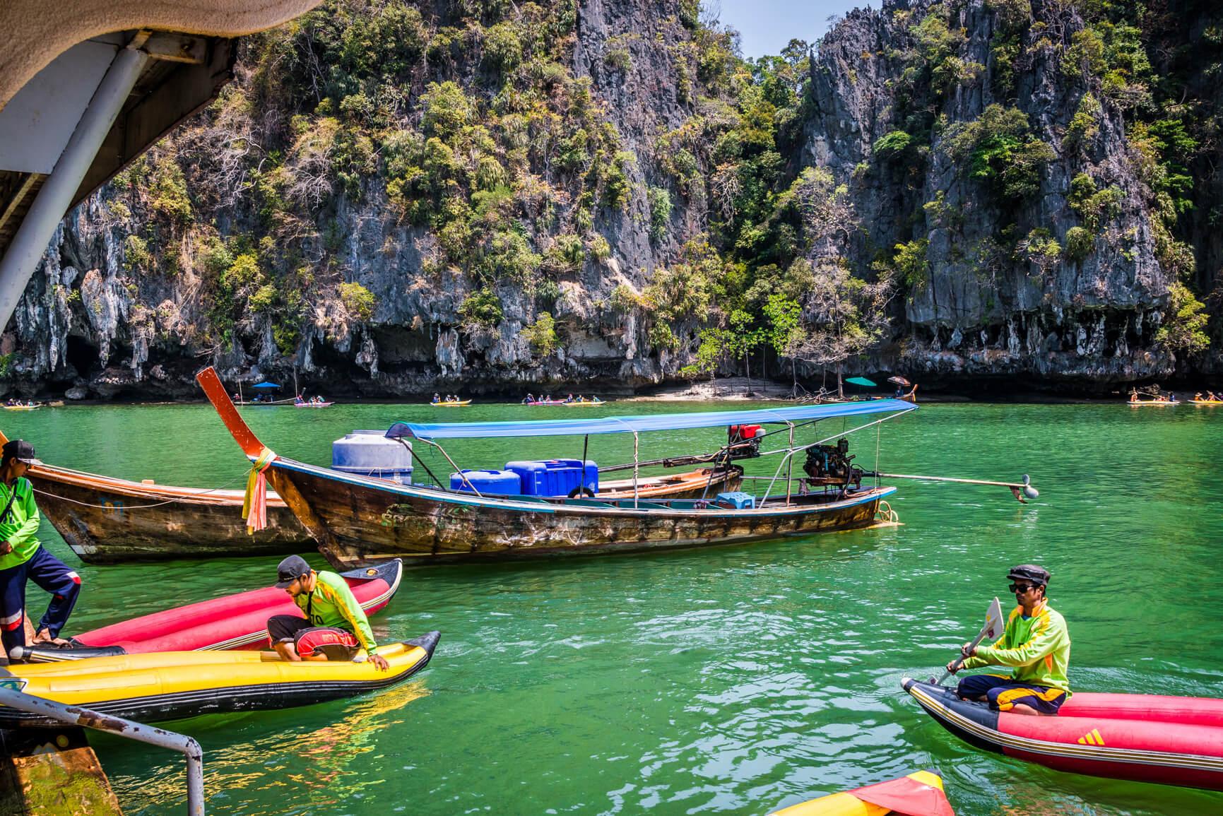 Каноэ в Таиланде, Пханг Нга