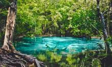 Голубое озеро в Краби