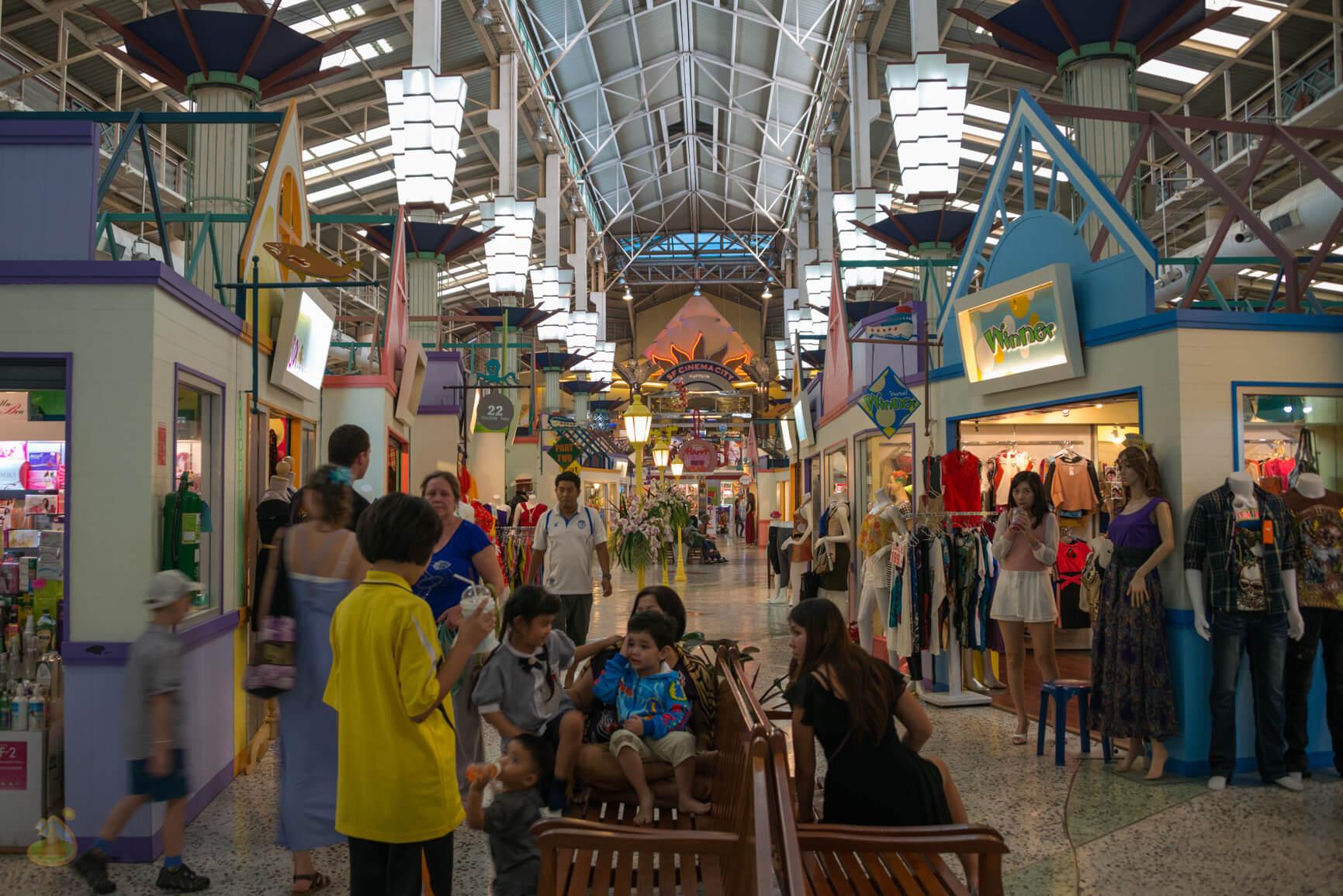 Шоппинг в Тайланде, Паттайя