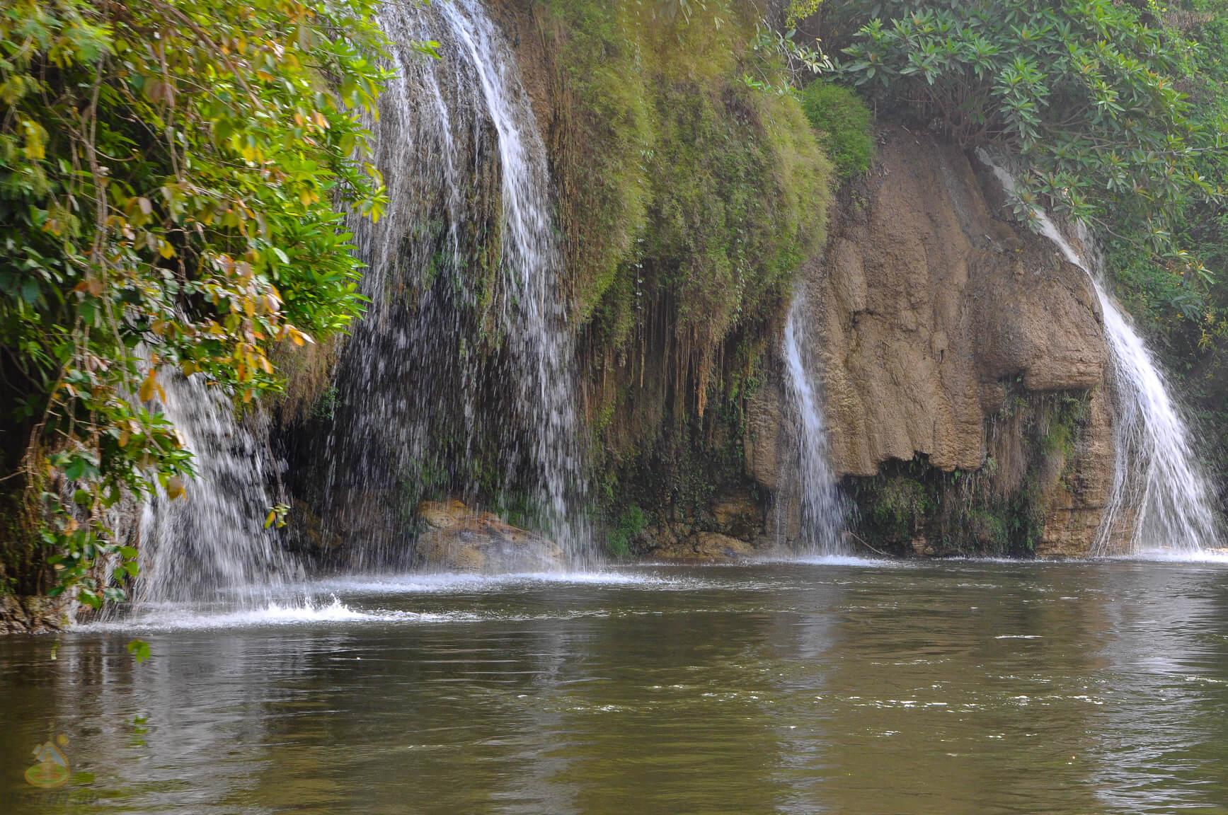 Река Квай в Тайланде, водопады