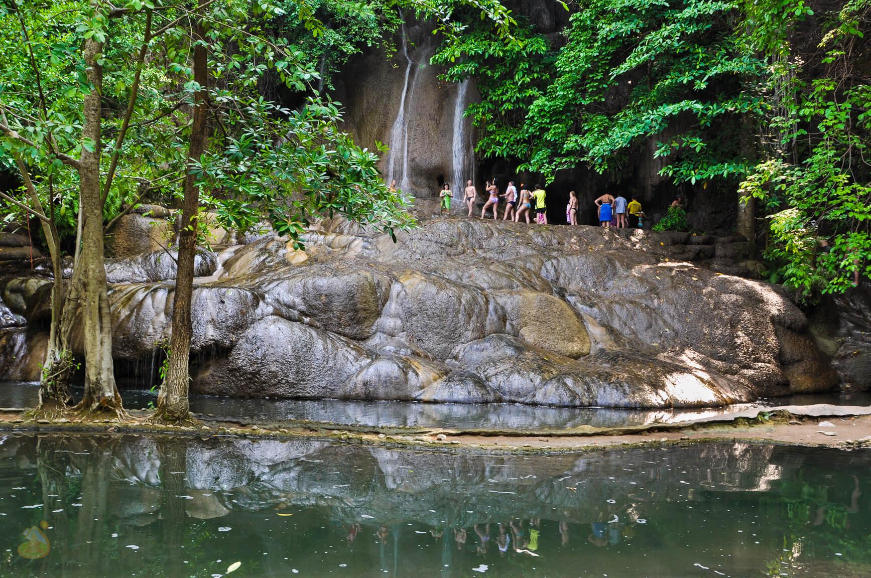 Водопад Сайок Ной - фото