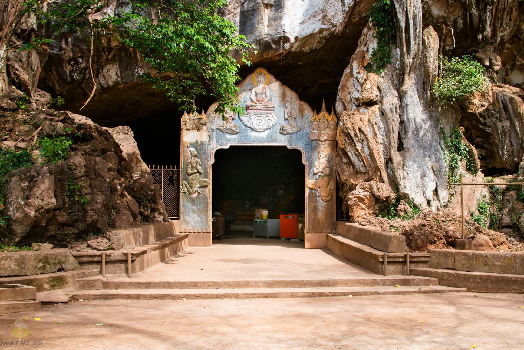 Вход в Suwankuha Temple