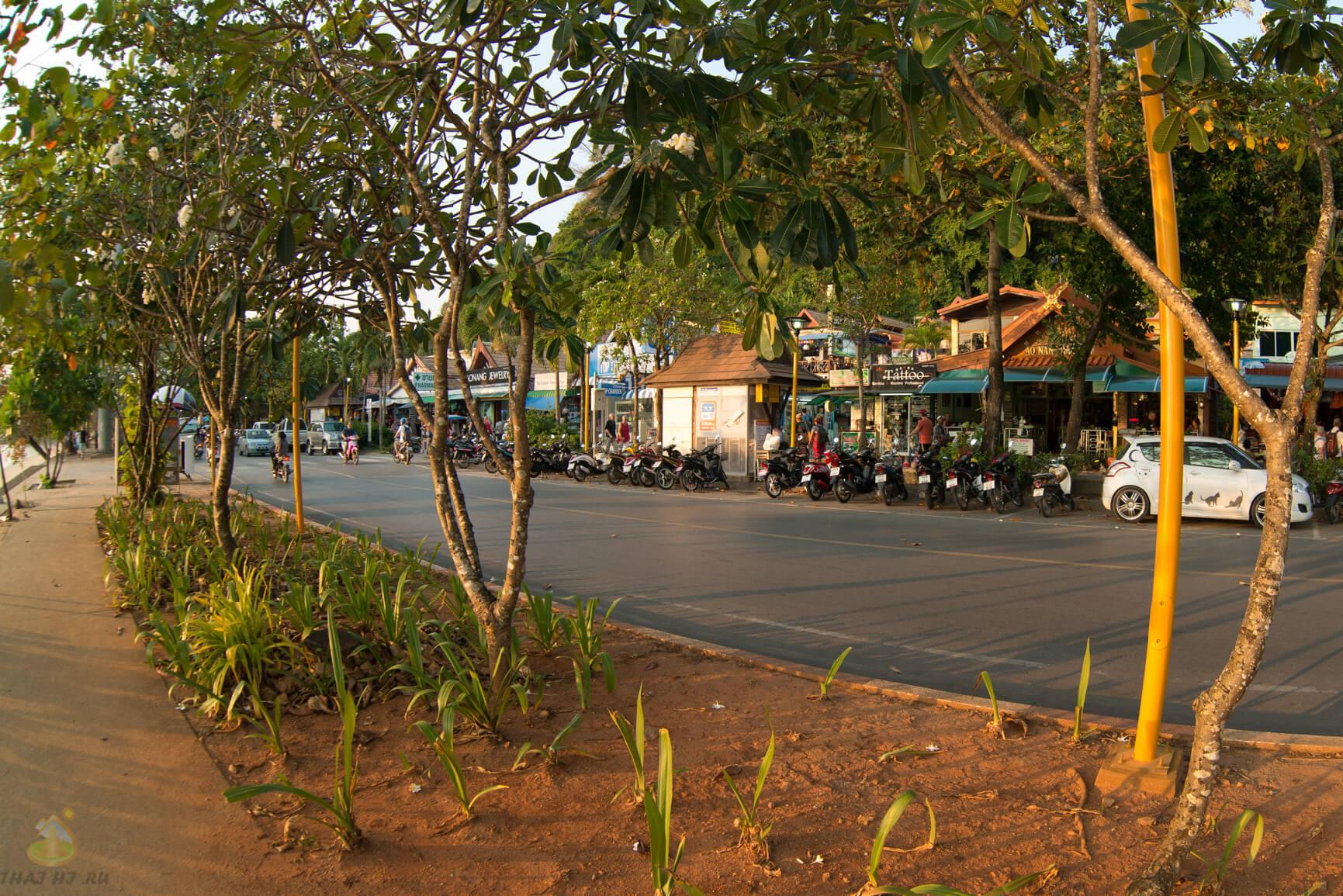 Закат на Ао Нанг - фото
