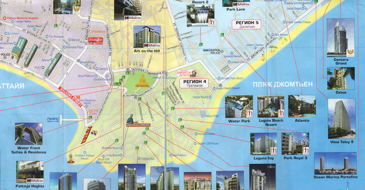 Pattaya_Hotels_Map