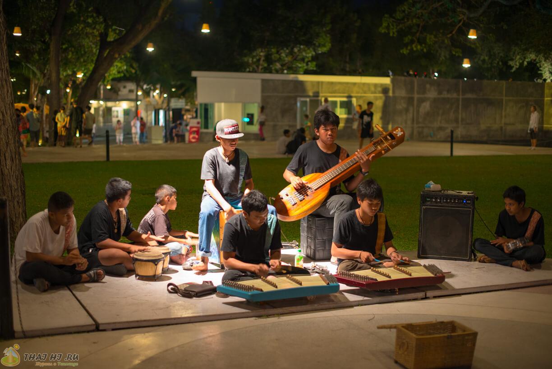 Музыканты в Hua Hin