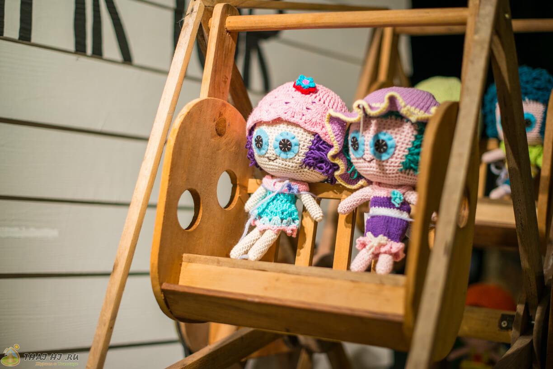 Куклы вязанные в Таиланде