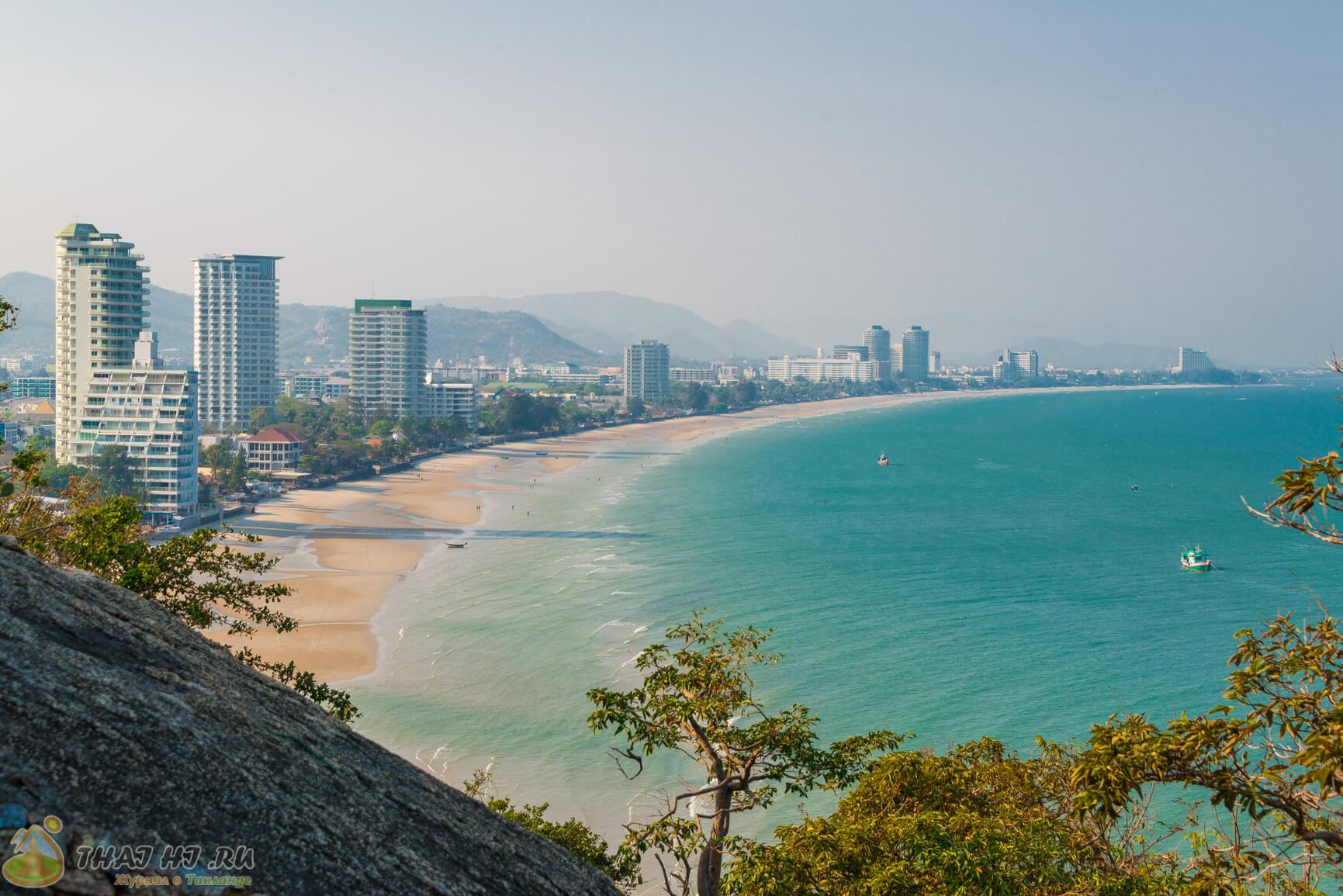 Hua Hin - панорама города
