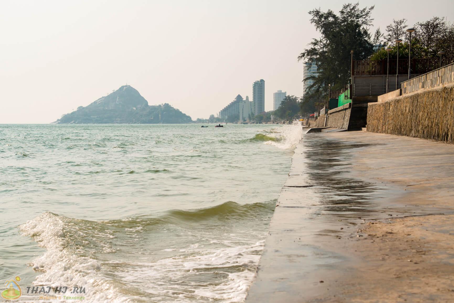 Берег моря в Хуа Хин