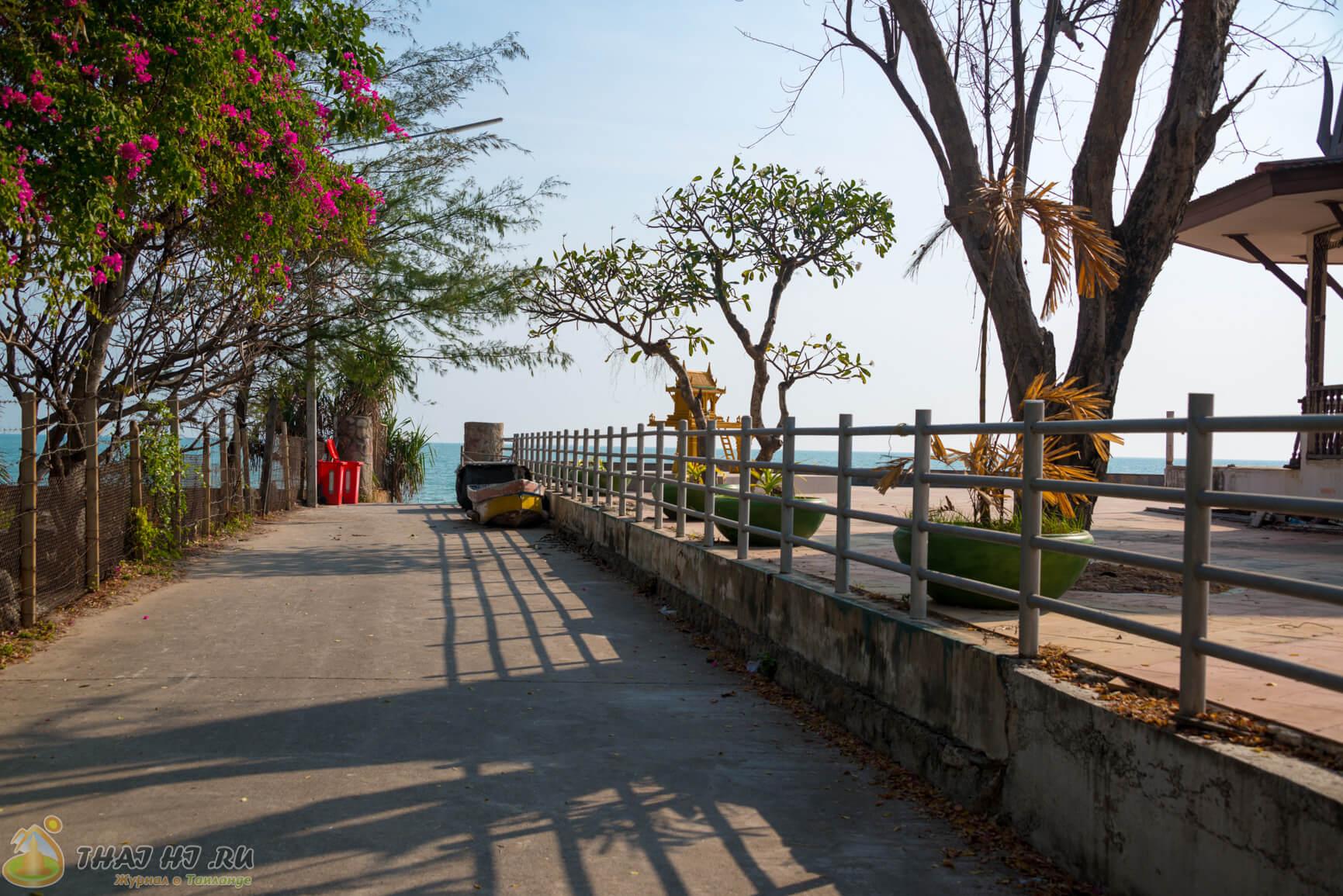 У побережья Хуа-Хина