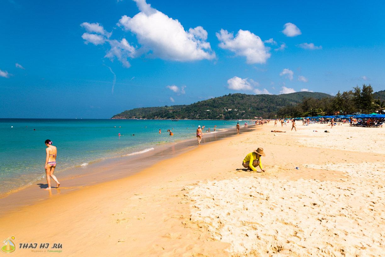 Фото пляжа Карон на Пхукете