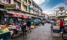 Фруктовый рынок на Пхукете