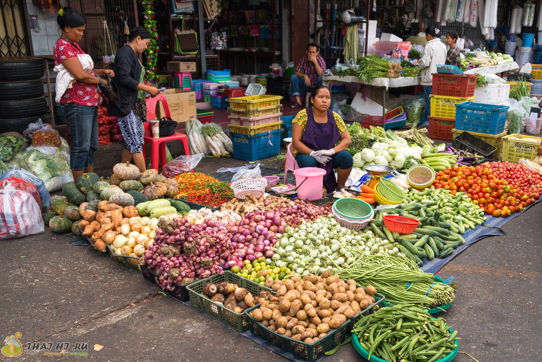 Овощи и фрукты на Пхукете