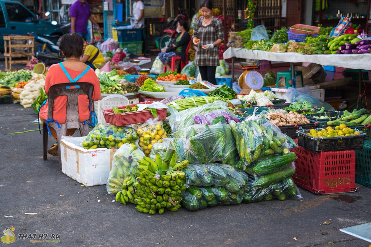 Овощной рынок на Пхукете