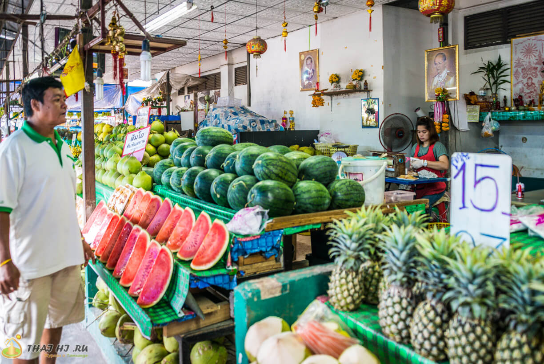 Рынки Пхукета - арбузы