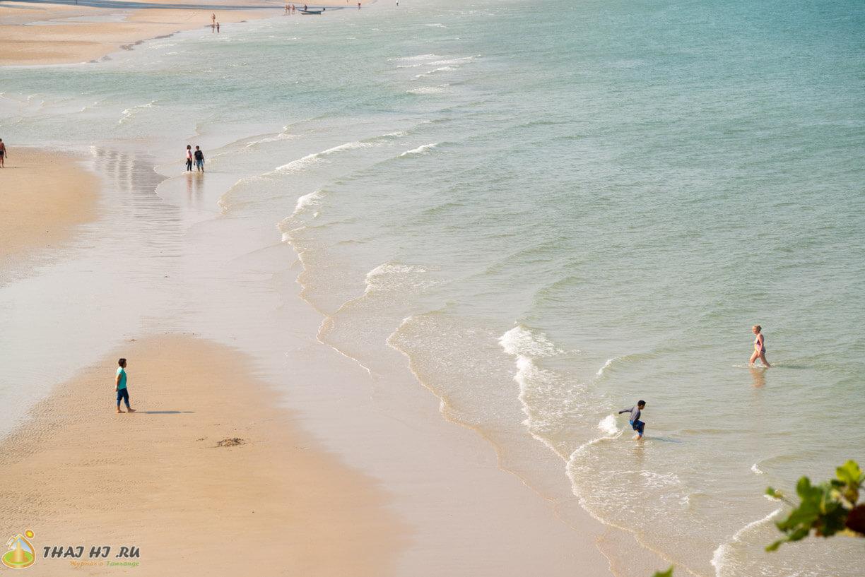 Такиаб пляж - фото с обзорки