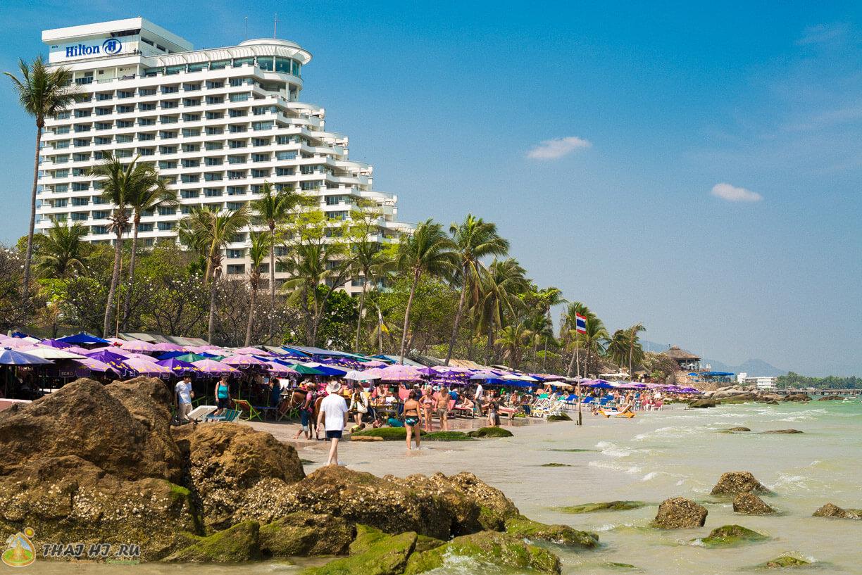 Центральный пляж в Хуа Хин
