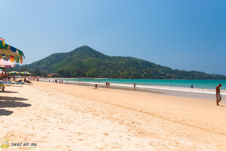 Пляж Камала на Пхукете Таиланд