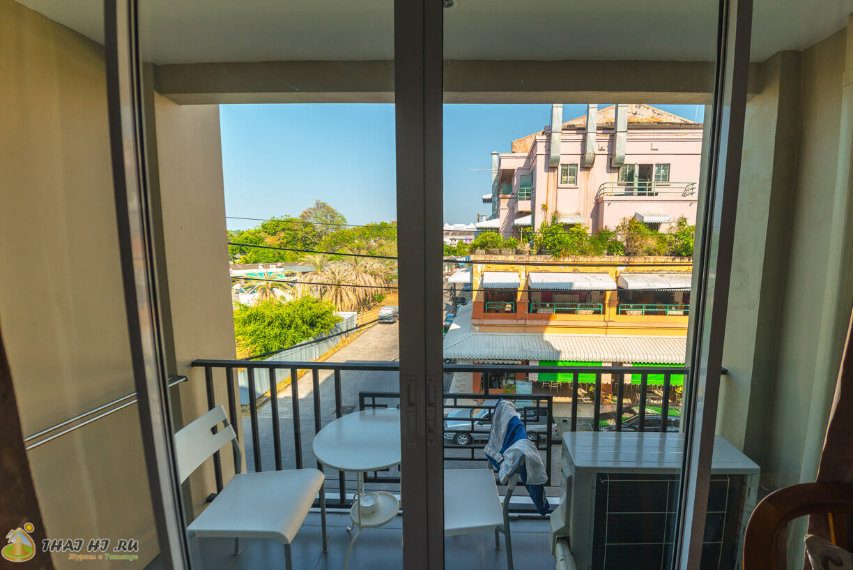 Балкон в Lub Sbuy House Hotel
