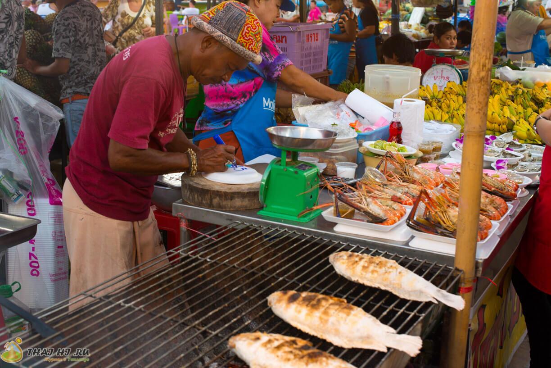 Рыба в соли на Пхукете