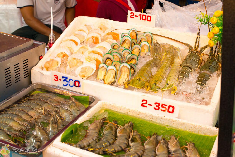 Морепродукты на Патонге