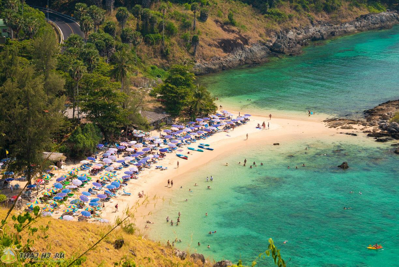 Пляжи Пхукета с обзорки