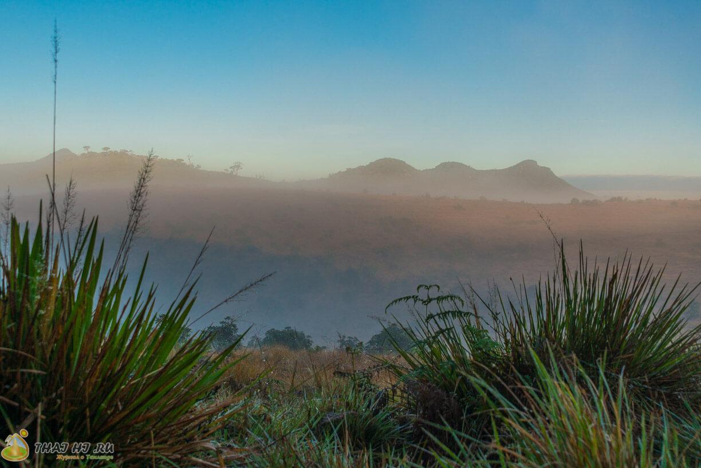 Горы и равнины в Horton Plains