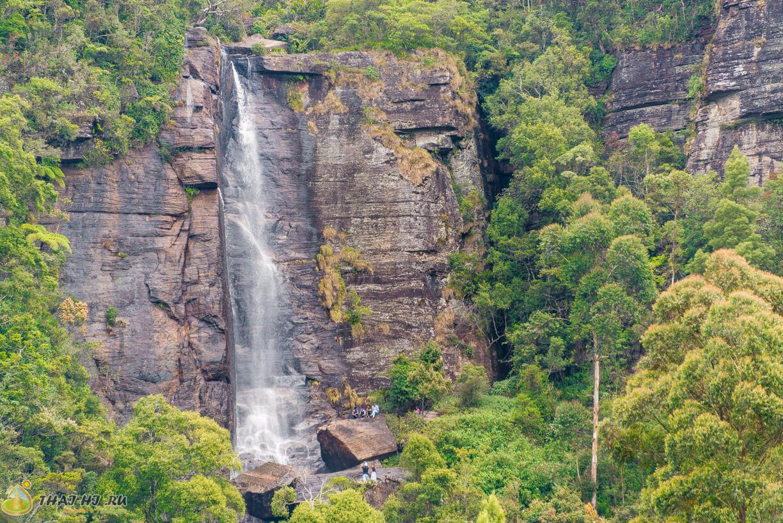 Водопад в Нувара-Элия, Шри-Ланка 2015