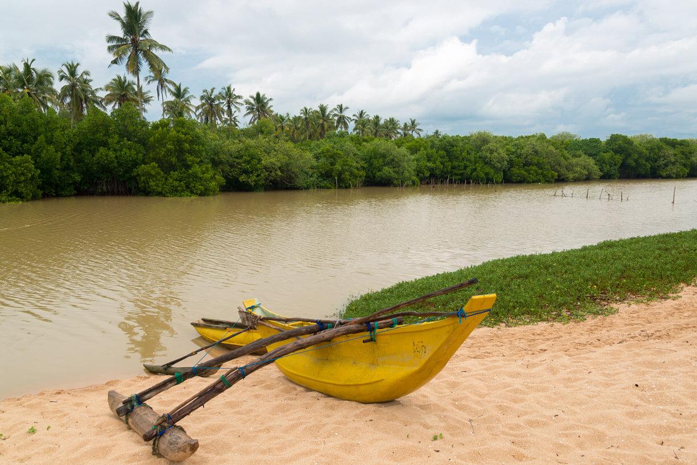 Пляж Tangalle на Шри-Ланке