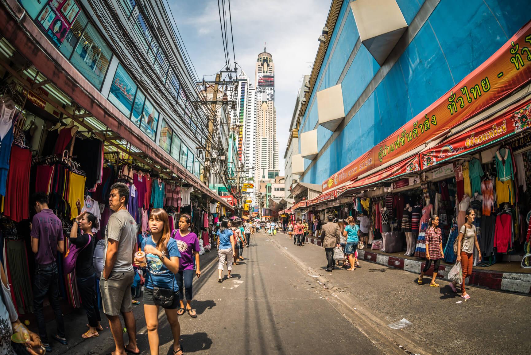 Большой базар в Бангкоке