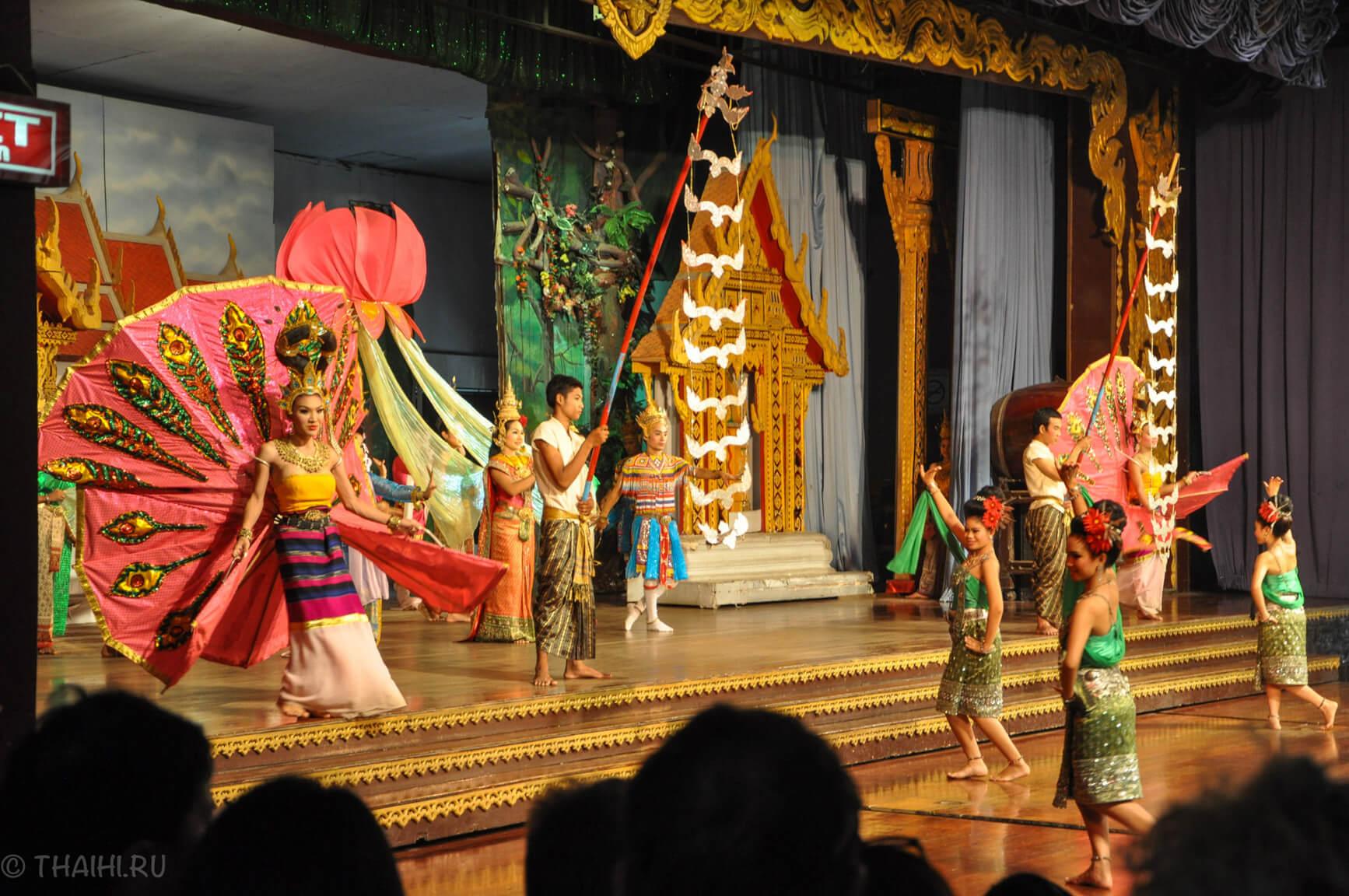 Веселое представление в Nong Nooch