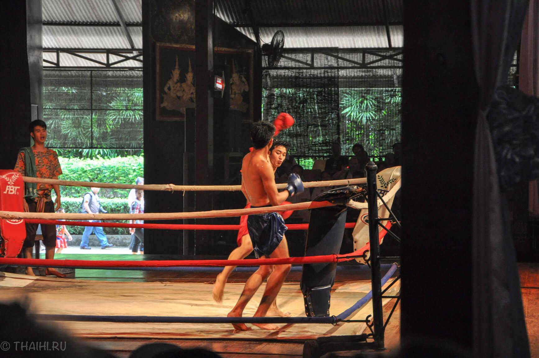 Шоу в Nong Nooch - тайский бокс