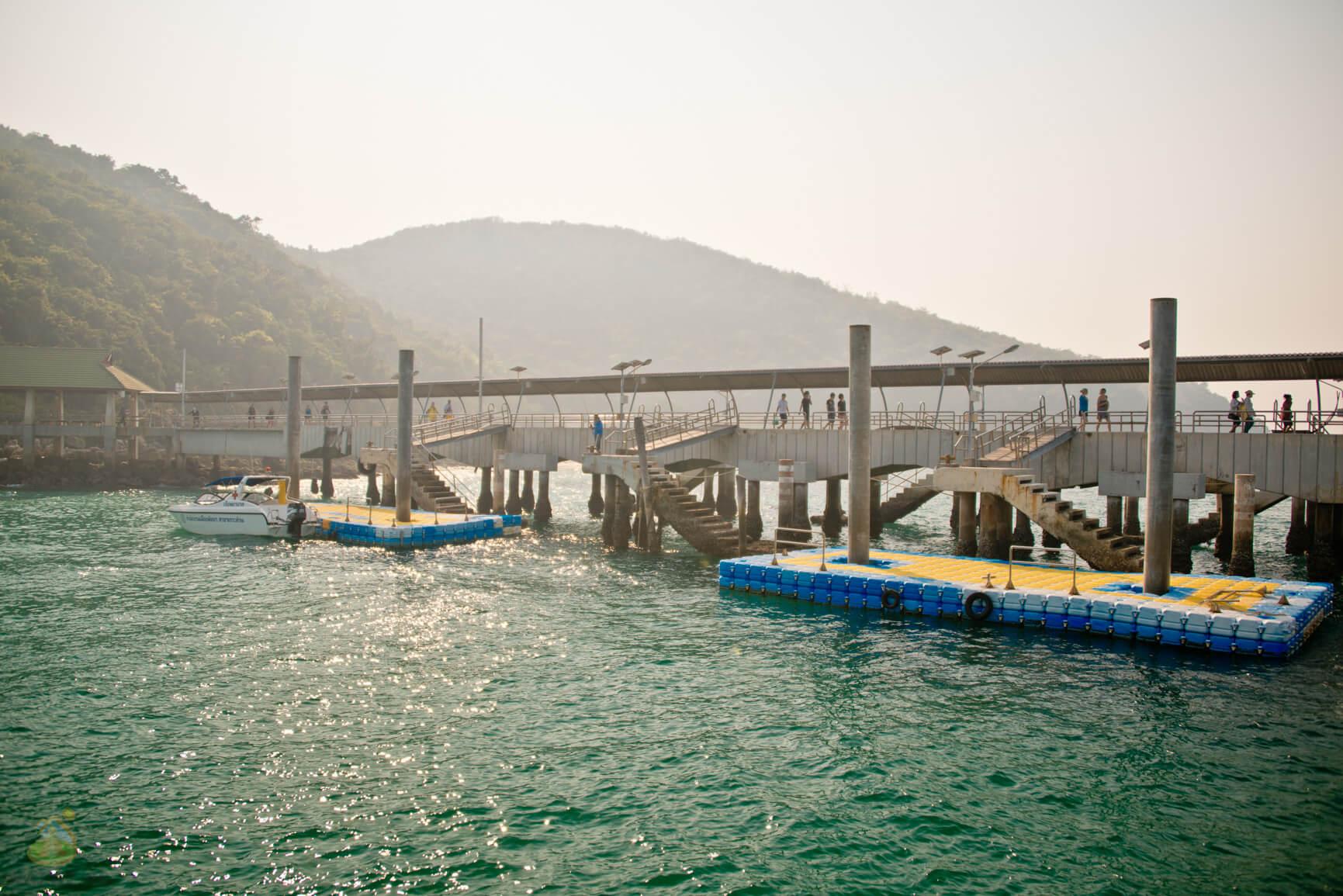 Остров Ко Лан, фото пирса