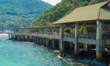 Остров Ko Lan возле Pattay, пирс