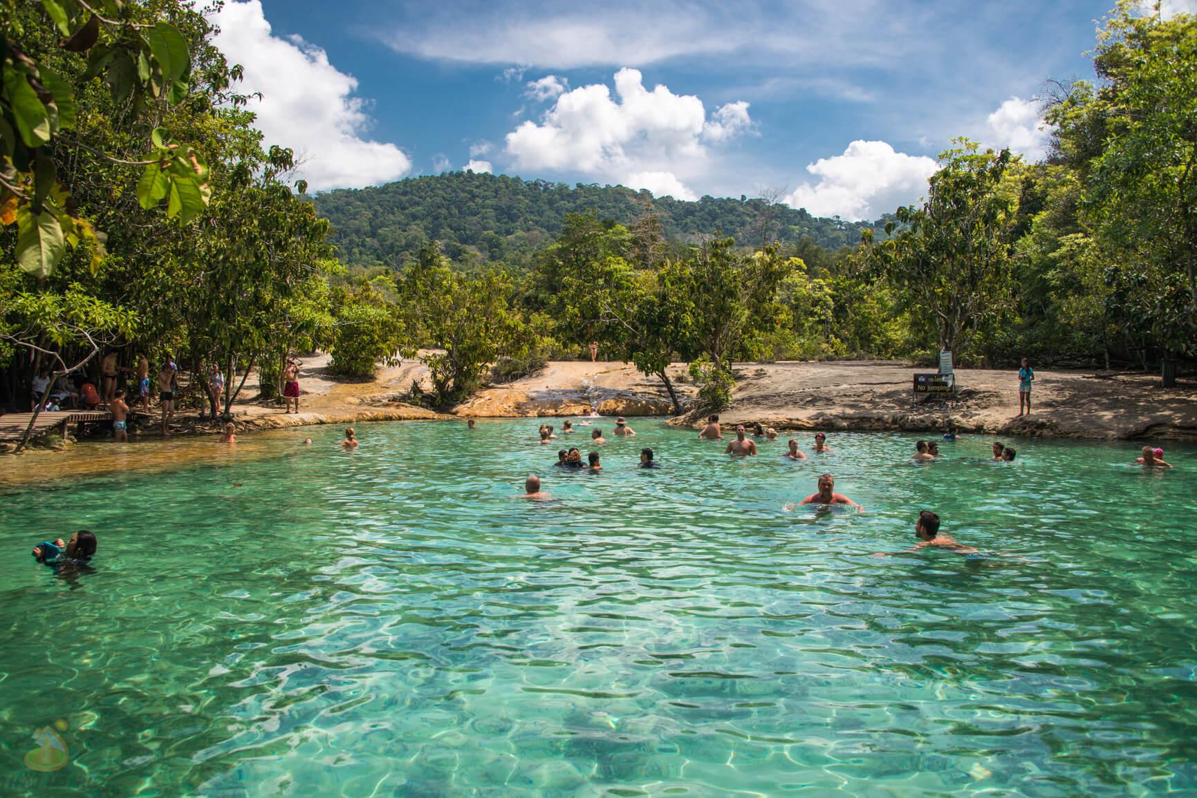 Краби - фотография Emerald Pool