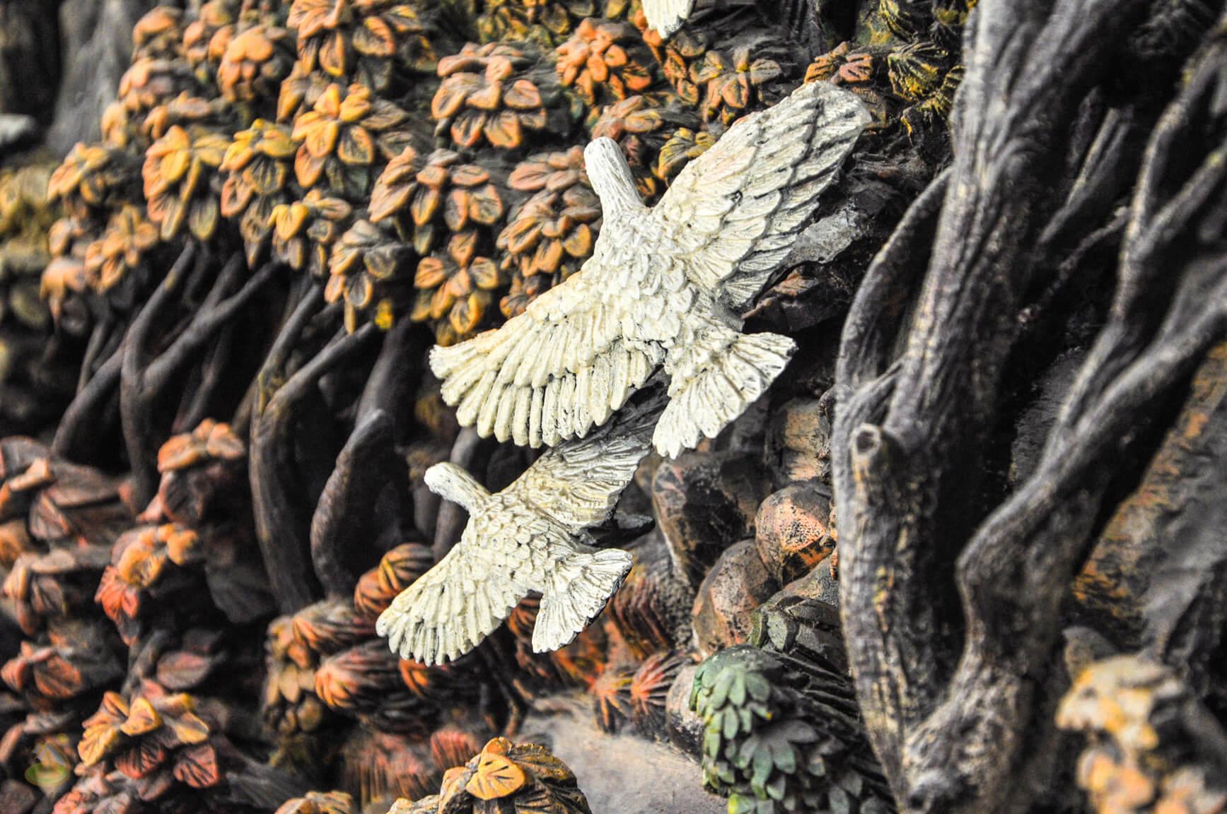 3D резьба по дереву, птицы