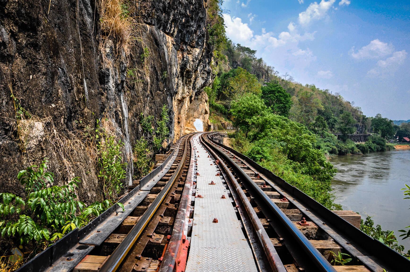 Дорога смерти в Тайланде