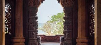 Чудесные арки в храме