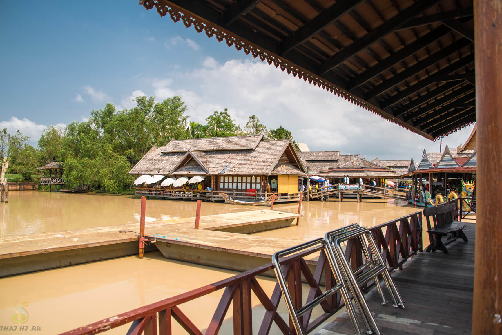 Паттайя, плавучий рынок, фотографии и видео